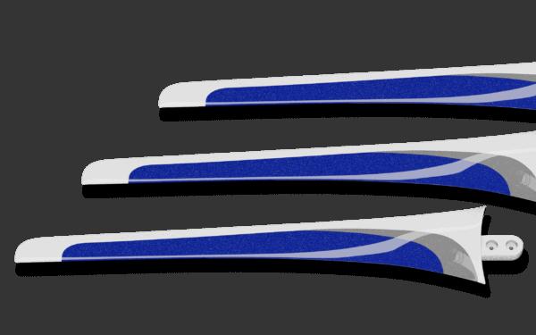 SHARK S-401 Rotorblätter